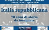 SUMMER SCHOOL INSMLI 2016: i risultati