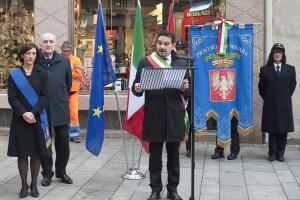 Settantacinquesimo anniversario Martiri Piazza Cavour Novara