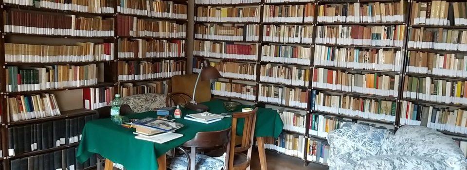 Biblioteca e Archivio Bonfantini: progetto luoghi del cuore