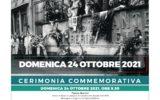 77° anniversario degli eccidi del 24 ottobre 1944 a Novara